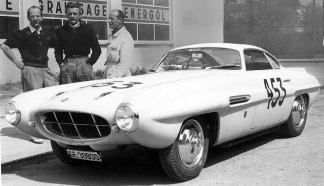 FAB WHEELS DIGEST (F.W.D.): Supersonic Designs by Ghia (1953-56)