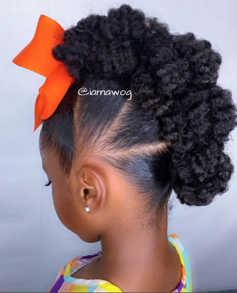 40 Stylish And Natural Taper Haircut Natural Hairstyles For Kids