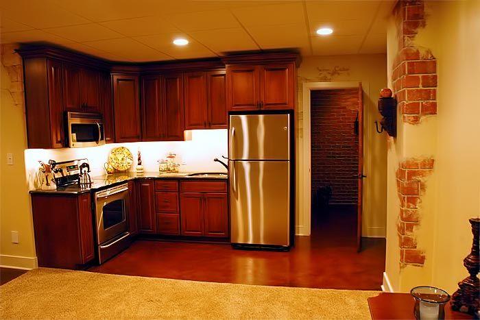 Basement L Shaped Kitchen Google Search Kitchen And Kitchenette L Shaped Kitchen Small Basement Kitchen
