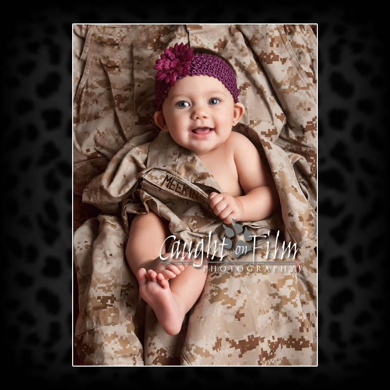 Caught on film san diego military newborn photography