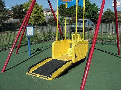 Special Needs Playground Equipment Wheelchair Swing A Special