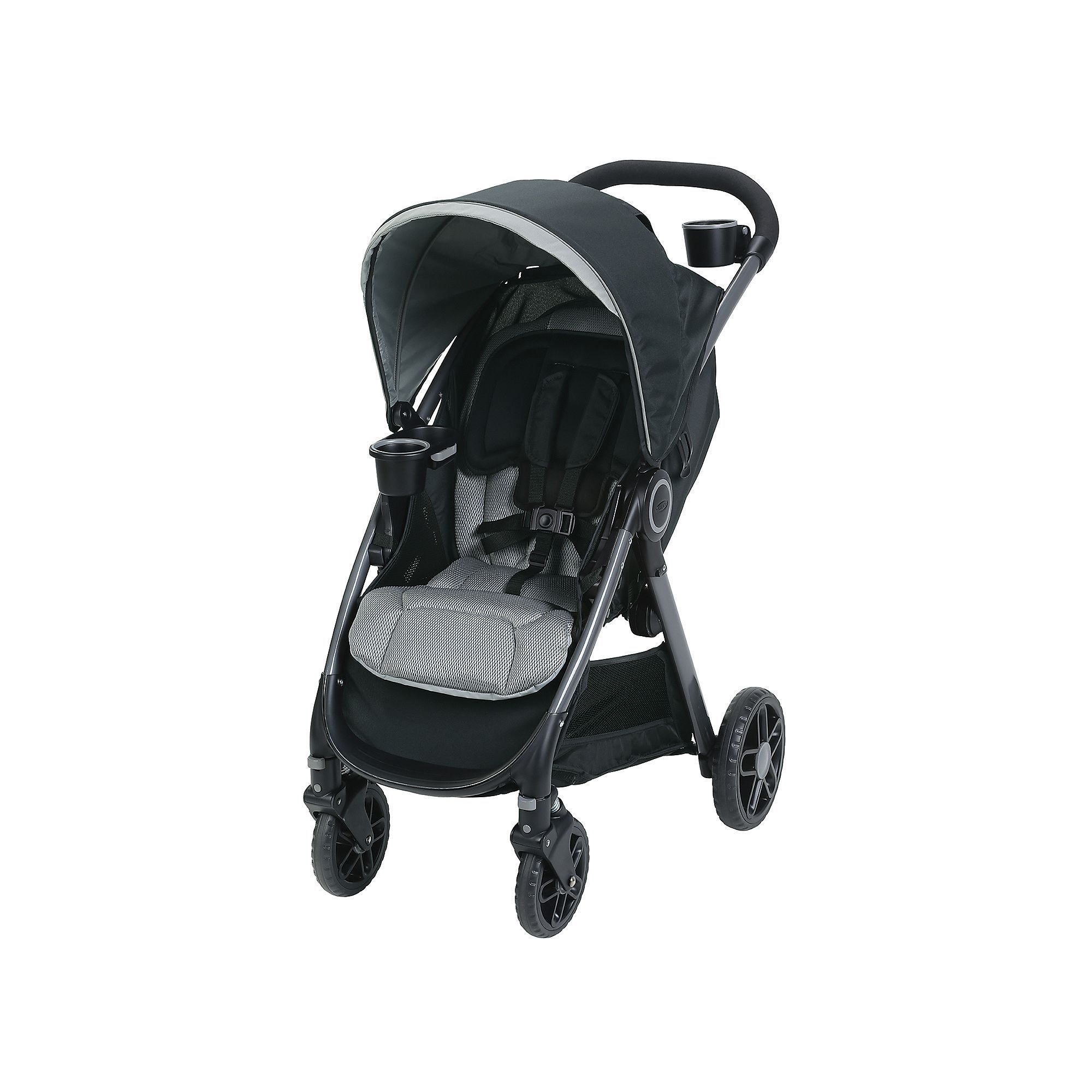 Graco FastAction DLX Click Connect Stroller, Multicolor