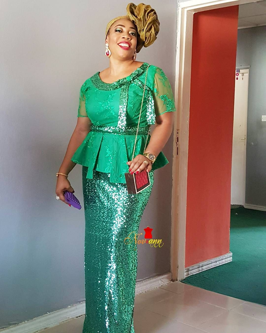 Wedding guests are slaying their Aso-Ebi outfits this 2016 and they ...