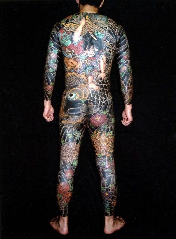 nice Tattoo Trends - 32 Beautiful Japanese Yakuza Tattoo Designs and Images  - Piercings Models
