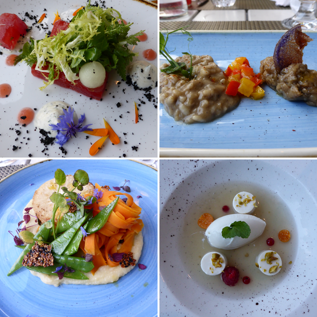 4 course menu at vegan restaurant Kopps, Berlin | Vegetarian and ...