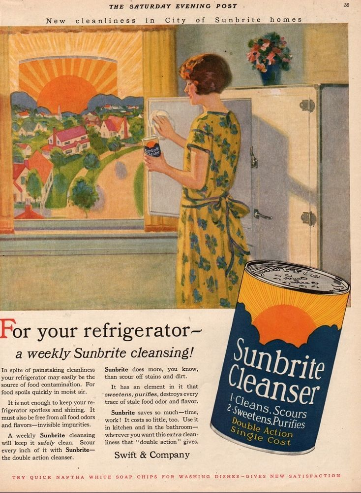 retro country kitchen 1927 sunbrite refrigerator vintage 1920s home kitchen wall 1927