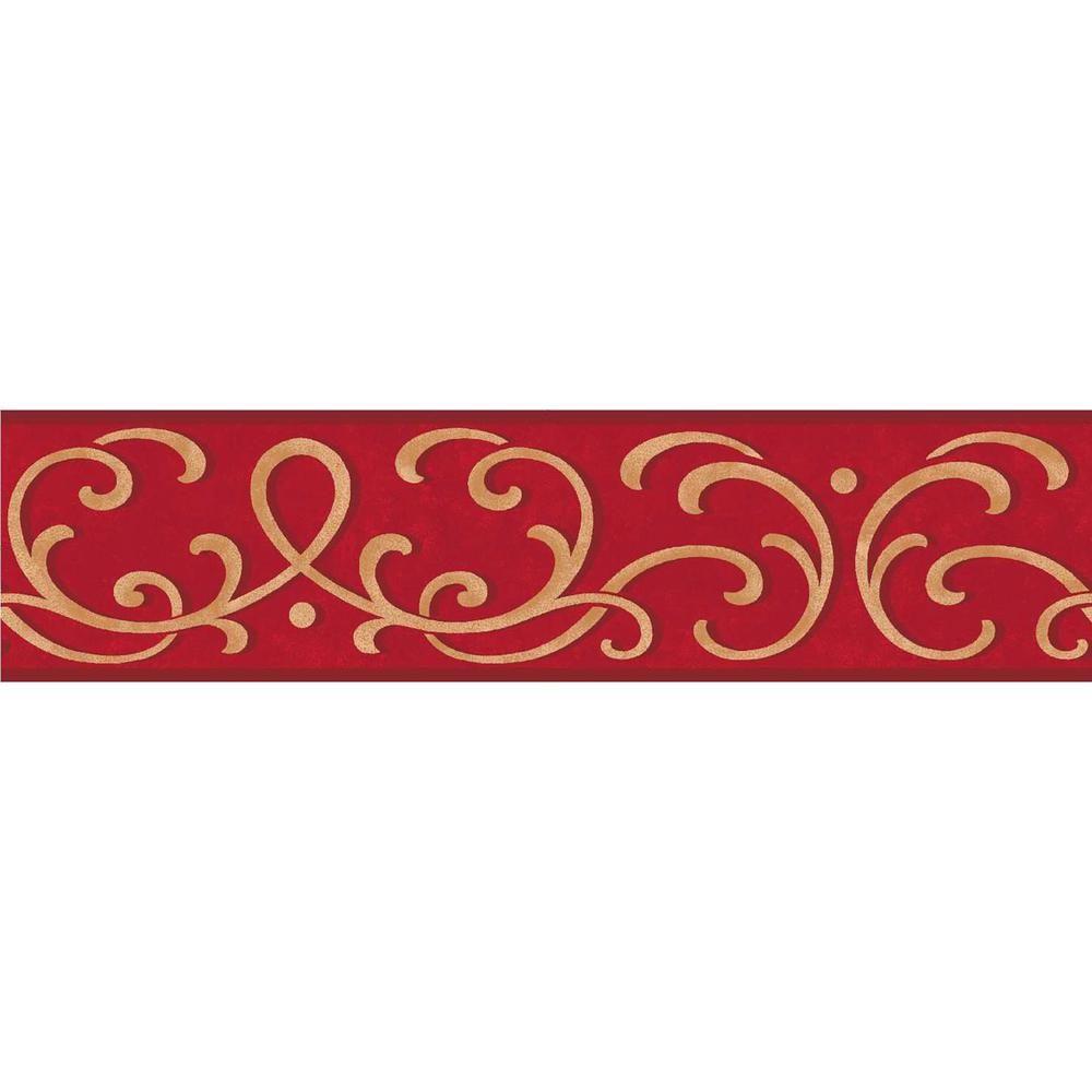 Simple Peel And Stick Wallpaper Border