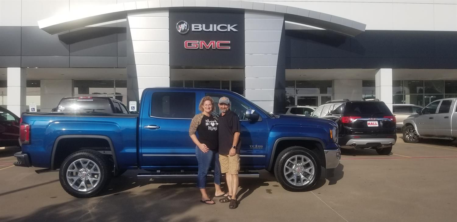 Thank You Mike For Choosing To Be A Part Of The Hall Buick Gmc Family Enjoy Your New Vehicle German Flores Buick Gmc Buick Gmc