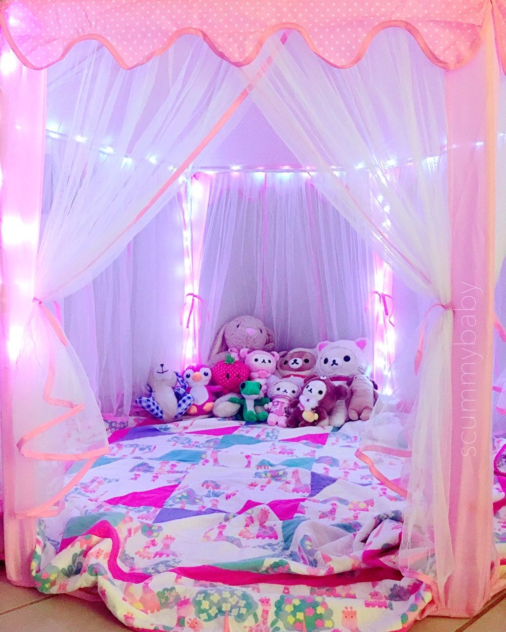 "32 Dreamy Bedroom Designs For Your Little Princess: Babysplayground: ""scummybaby: ""i've Joined The Princess"