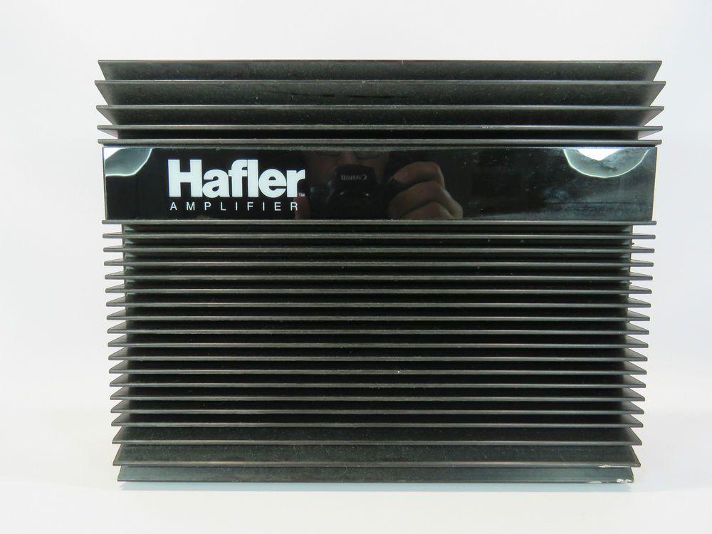 Hafler MA-4 Old School Amplifier Amp Division of Rockford