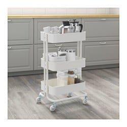 RÅSKOG 推車. 白色 - IKEA | Raskog utility cart. Ikea raskog. Ikea raskog cart