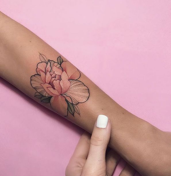 Pink Flower Tattoo: 65 Dreamy Ink Styles That Are Just WOW
