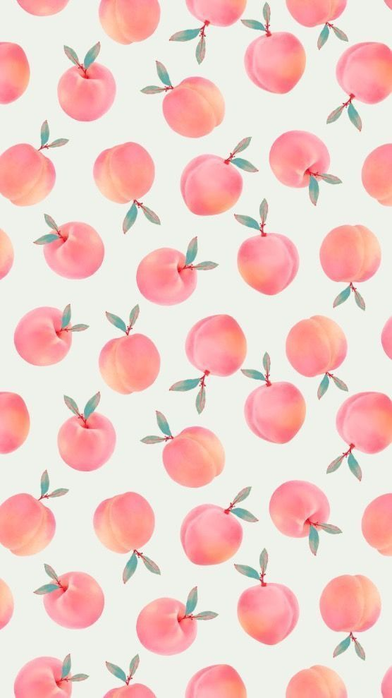 peaches    Pattern ♦ Muster  Muster Pattern Peaches is part of Peach wallpaper -
