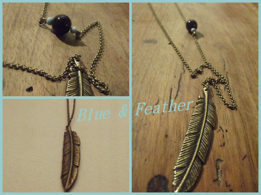 Blue & Feather