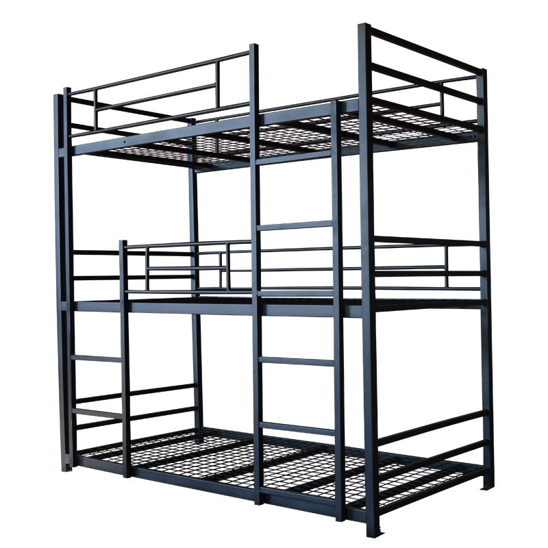 Best Bedroom Furniture Iron 3 Layer Triple Metal Bunk Bed Cheap 640 x 480