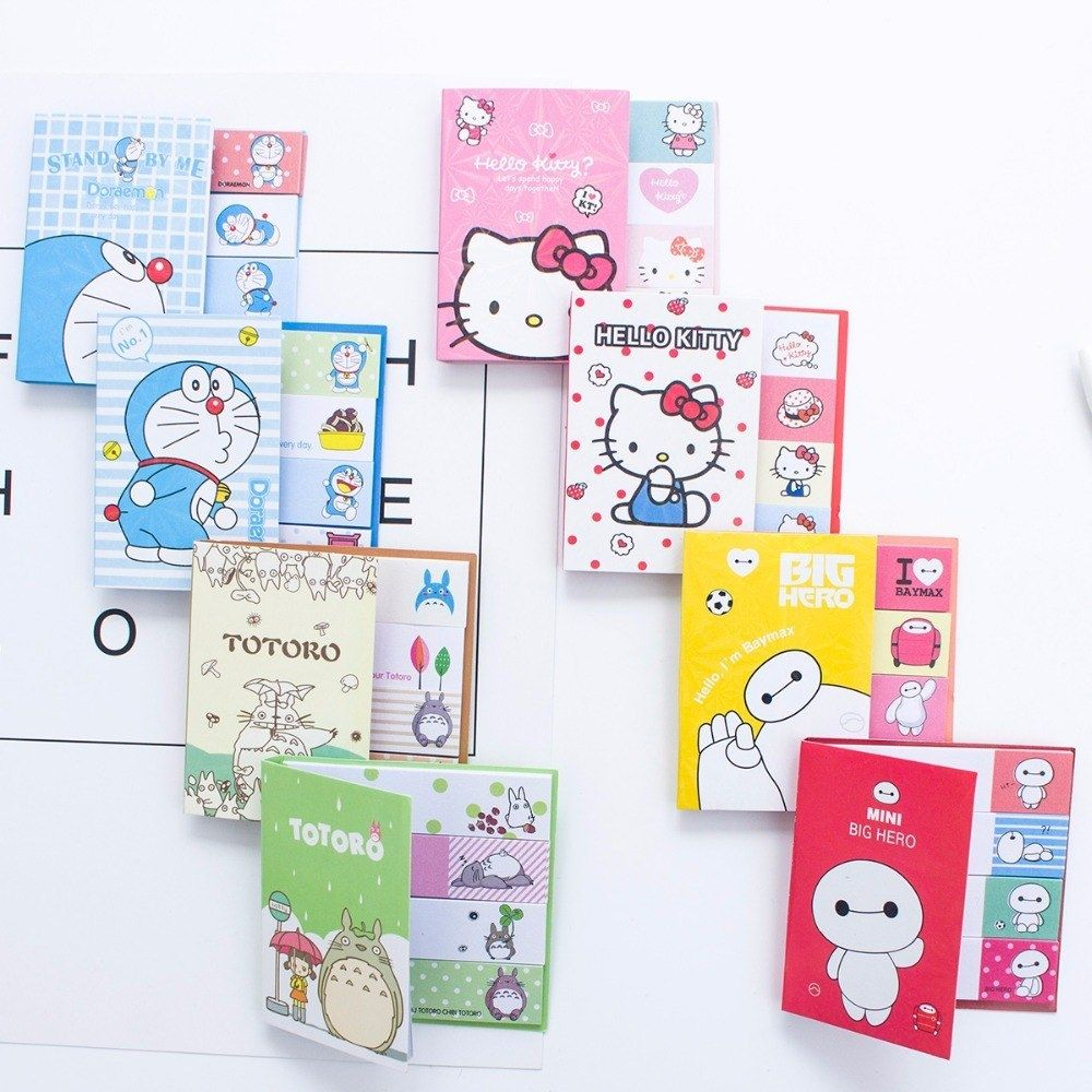 100pcs Paper Memo Pad Label Tag Index N Times Sticky Notes Bookmark Stickers Hot Sale Sign Planner Message Stationery Supplies Memo Pads Notebooks & Writing Pads