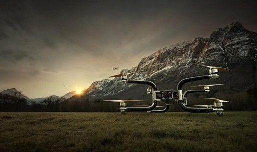 I Norge utviklet oktokopter kan løfte opp til 300 kg |  Helikopter Industry Association