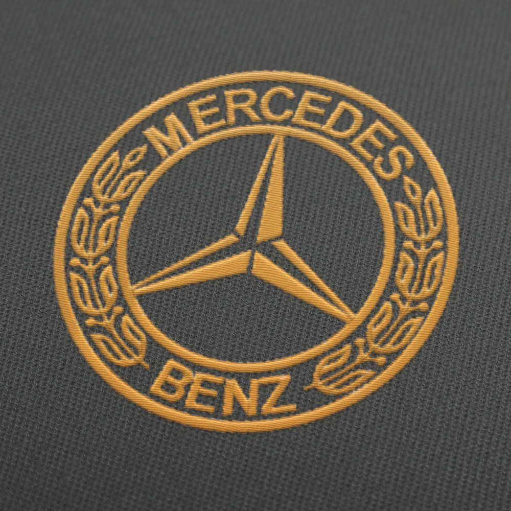 Mercedes Benz Embroidery design download for instant
