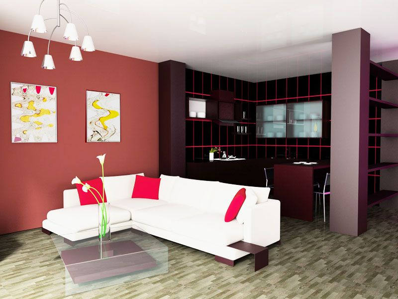 Colorful Accent Walls Accent Wall Color Combinations On