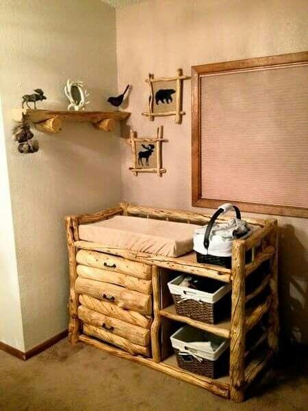 Backwoods Baby Log Furniture Rustic Nursery Dream Children