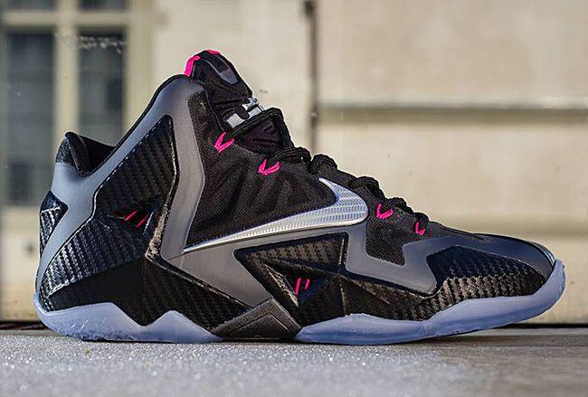 Nike LeBron 11 Blue Black Pink
