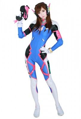 Overwatch Suicide Squad Quinn D.va Women Tights Jumpsuit Cosplay Costume