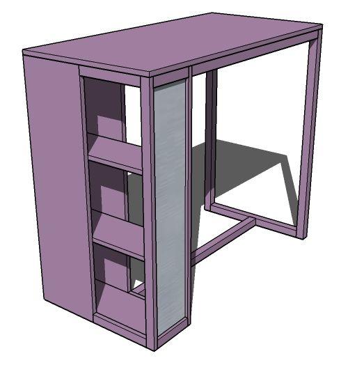 ana blanc construire un dortoir bureau projet de bricolage gratuit et facile et des plans de. Black Bedroom Furniture Sets. Home Design Ideas