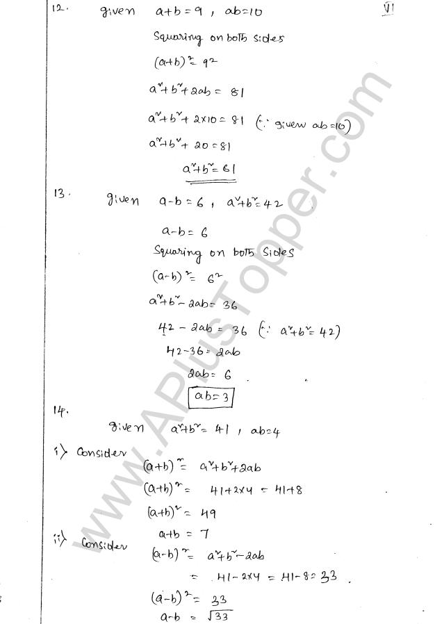 class 8 maths solution