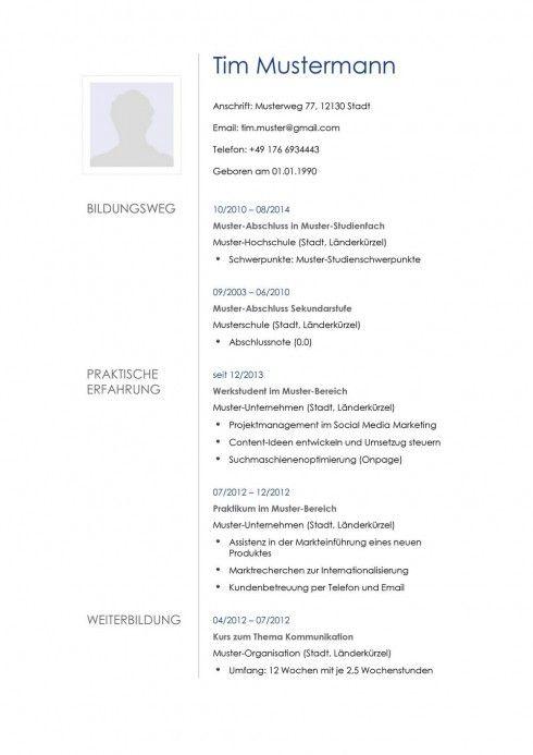 Lebenslauf Muster Vorlage 21 Architekt 1 Lebenslauf Lebenslauf Muster Lebenslauf Vorlage Schuler