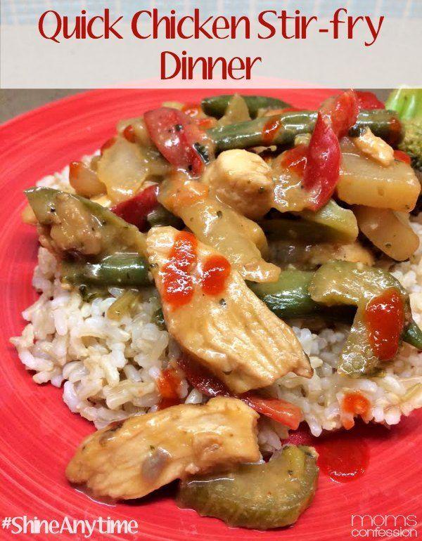 Quick Easy Chicken Stir Fry Recipe Dinners Pinterest