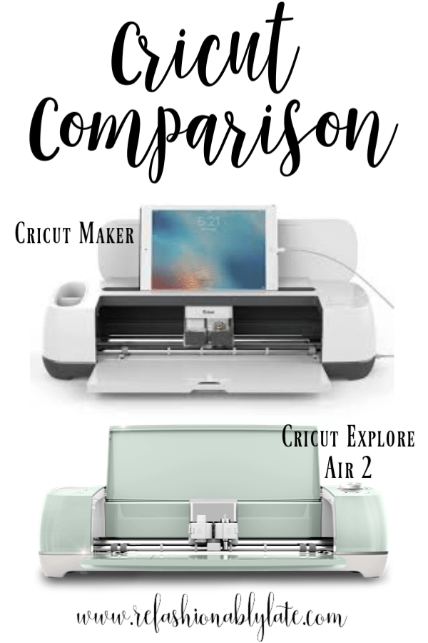 A Cricut Comparison of the Cricut Explore Air 2 and Cricut