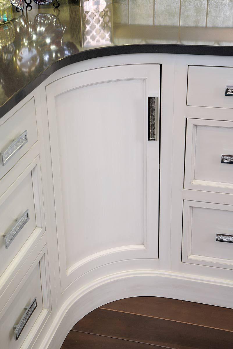 Custom Curved Cabinet Door Cool House Designs Cabinet