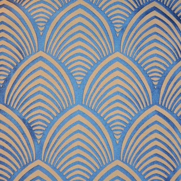 Tissu Edo Thévenon motif art deco | Art deco, Patterns and Wallpaper