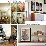 Fotos na Decoração de casas, apartamentos e lojas