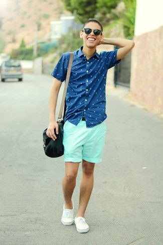 green shorts mens outfit - Google Search | summer style | Pinterest