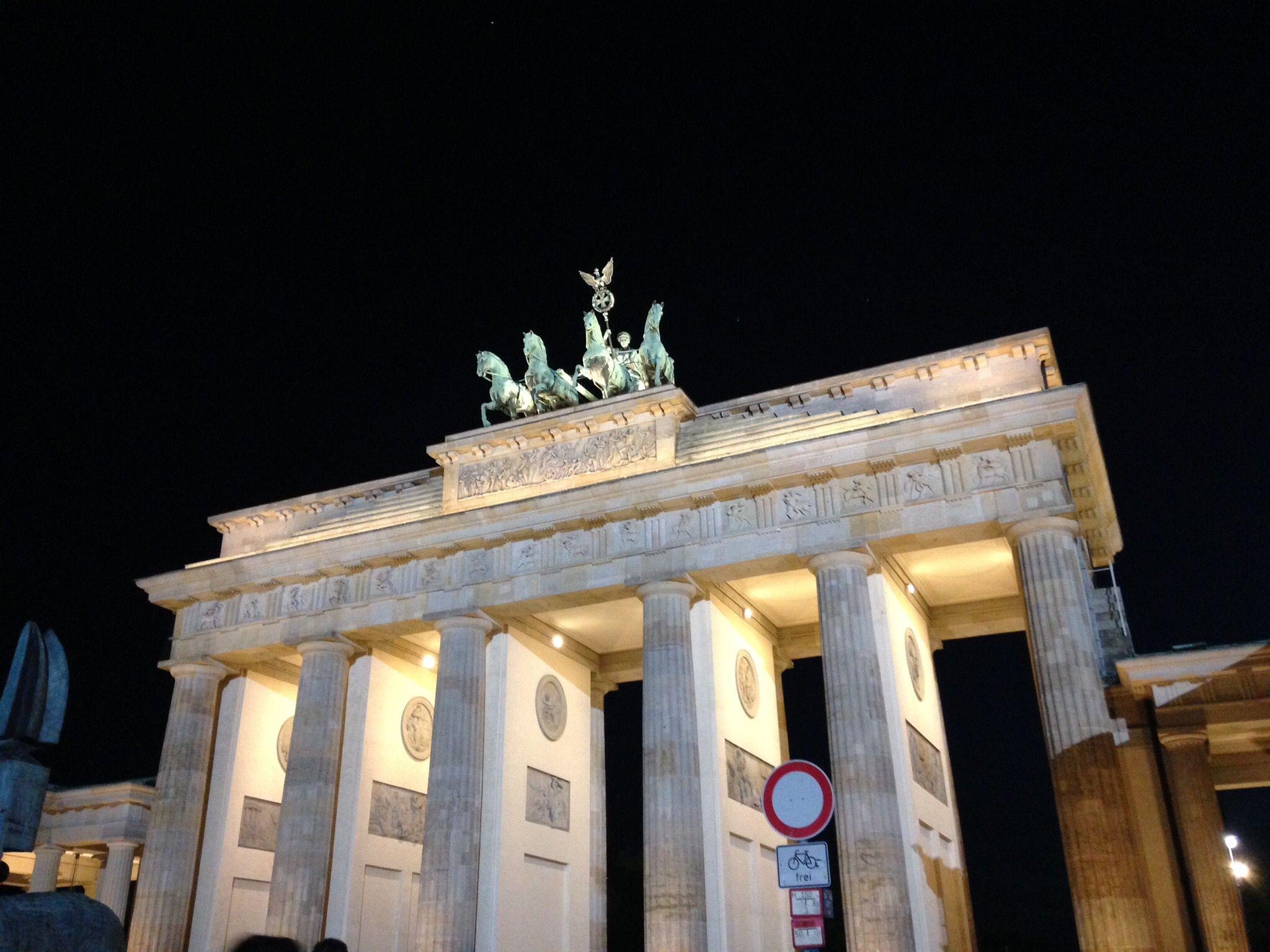 Brandenburger Tor Berlin Berlijn Berlijn