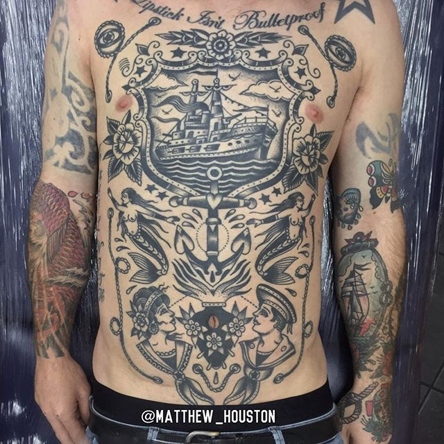 matthew houston design transition from sail to steam ship tattoos pinterest tattoo. Black Bedroom Furniture Sets. Home Design Ideas