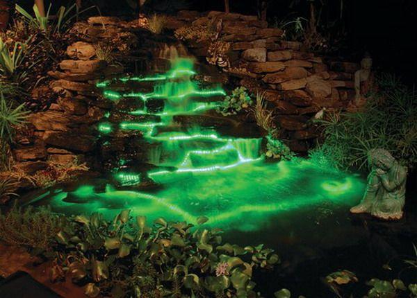 pond lighting ideas. popular outdoor patio led lighting ideas best design pond