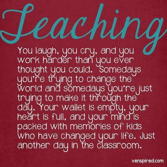 Love teaching!