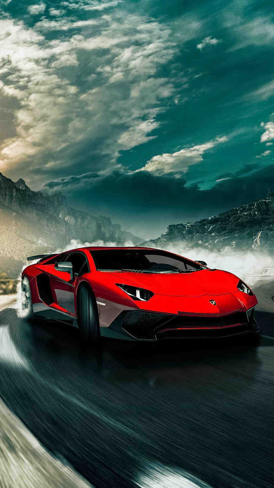 Image of 2017-Lamborghini-Aventador-SV-LP750-4-Wallpaper-for-Android-and-iPhone-6-Plus ...