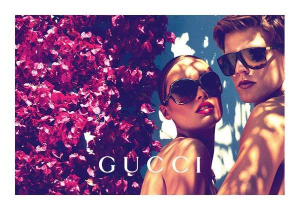 1bba34453186a The Gucci Cruise Spring 2012 Shoot Gets Spring Flowing  couples  trendhunter.com