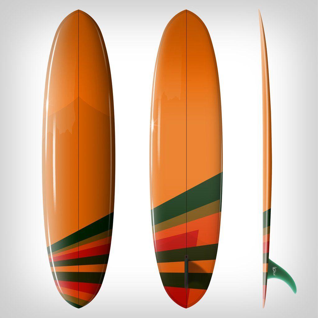 Custom Order Egg Surfboard Double Ender