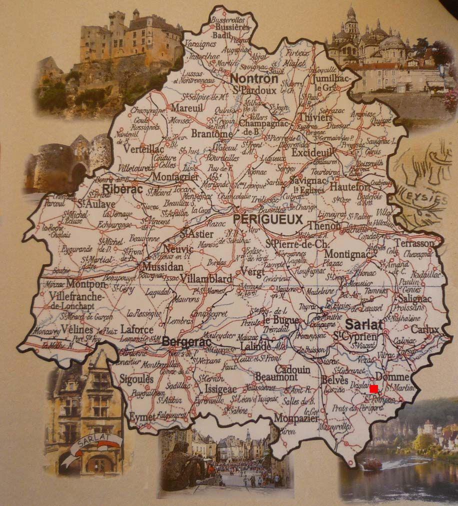 La Dordogne ses chteaux et ses villes Prigueux Bergerac