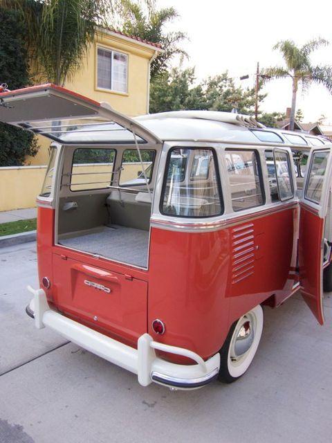 1959 Vw 23 Window Microbus For Sale Oldbug Com Carros Kombi Camping