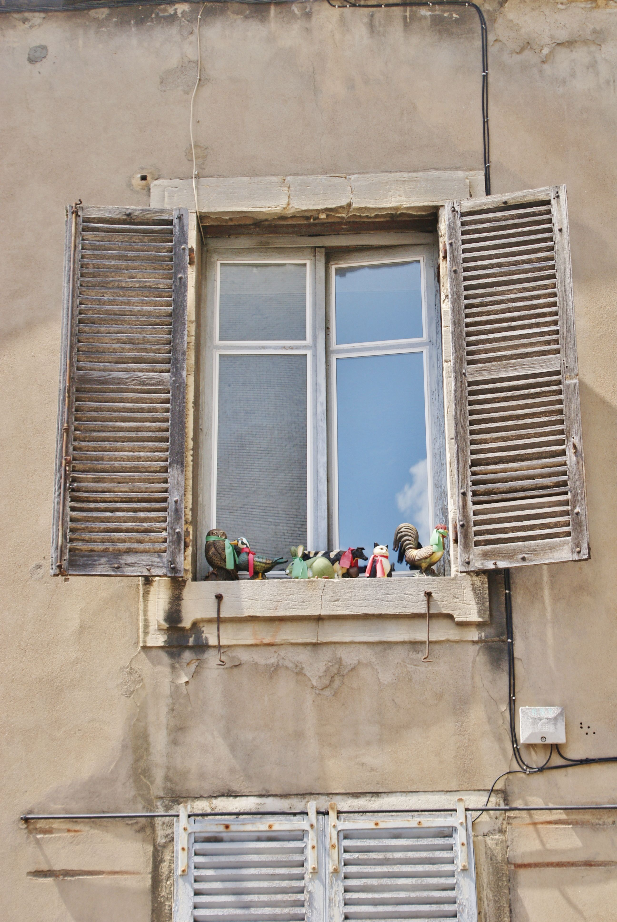 raam, fenetre  Dyon, France