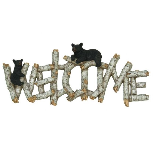 Birch & Bear Welcome Wallhanging - American Expedition