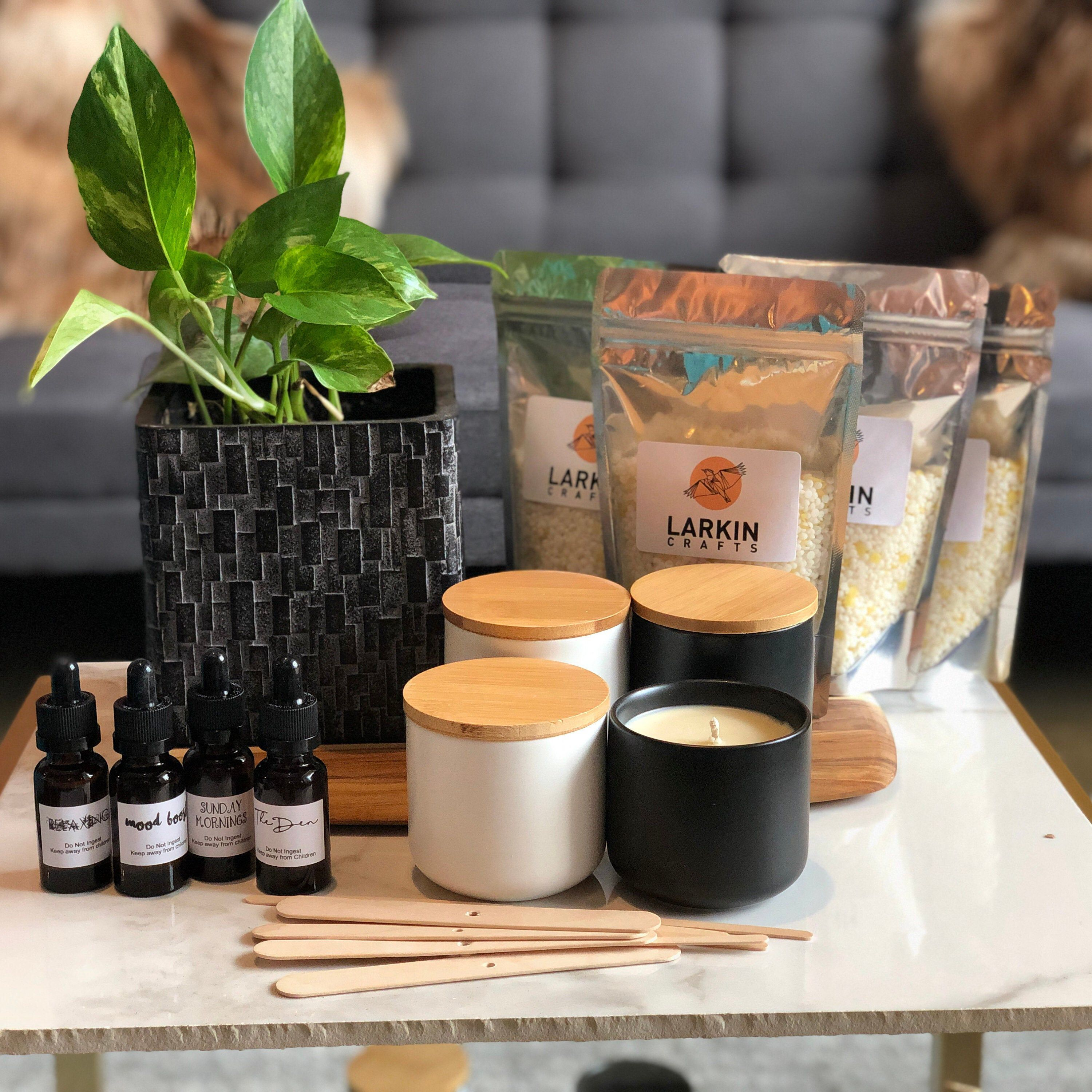DIY Scented Candle Making Kit Soy And Beeswax blend