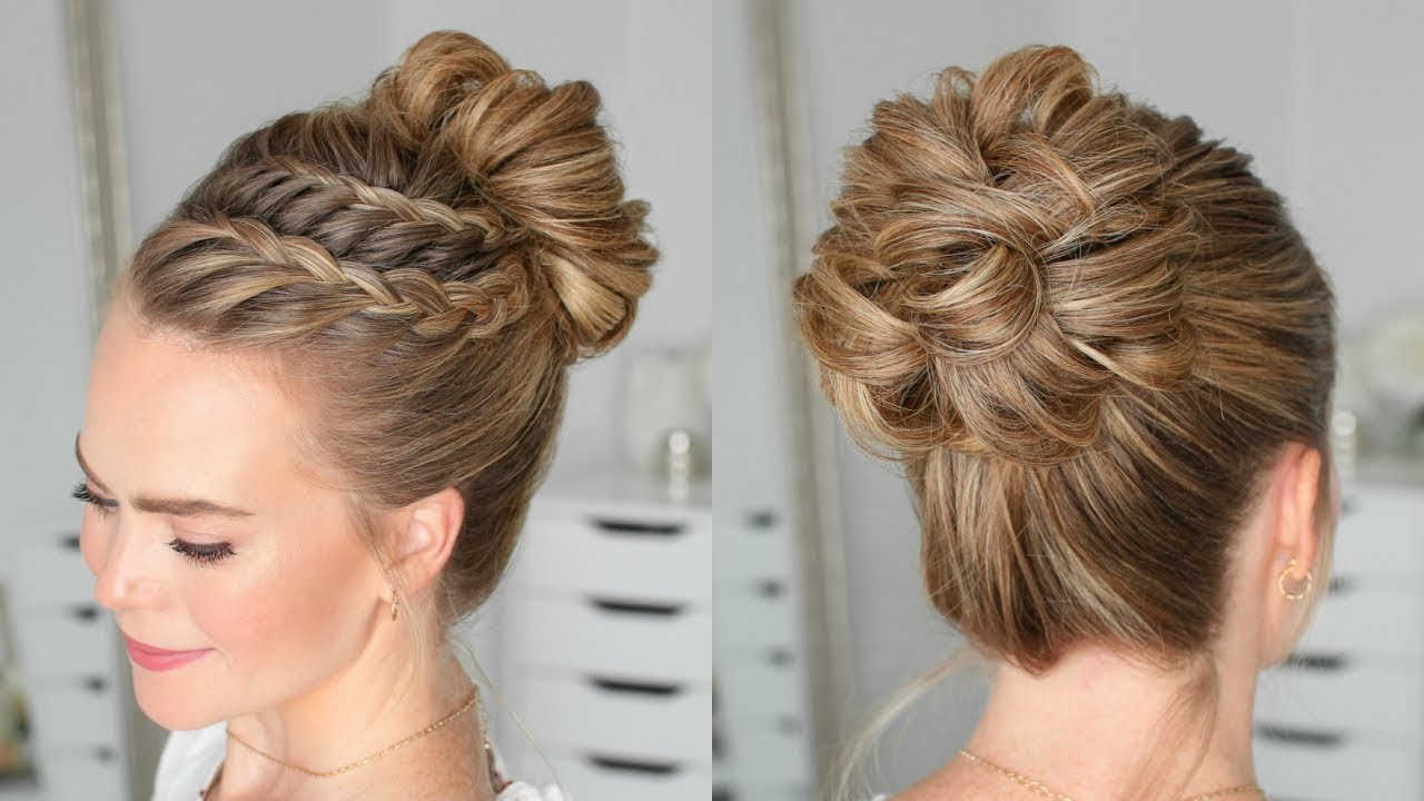 Pin By Danielle Baran On Beauty Braided Bun Hairstyles Bun Hairstyles Braided Hairstyles