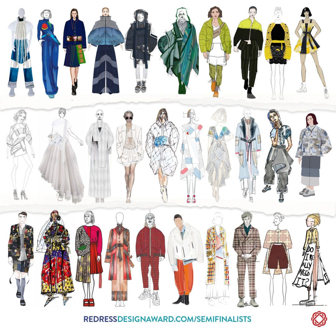 Meet The Redress Design Awards Semi Finalists For 2019 Eluxe Magazine In 2020 Fashion Design Competition Sustainable Fashion Designers Fashion