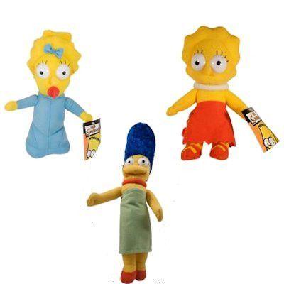 Simpsons Girls Medium Plush Mix 144 ct